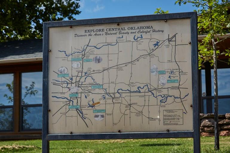 Adventure Road Lake Thunderbird State Park