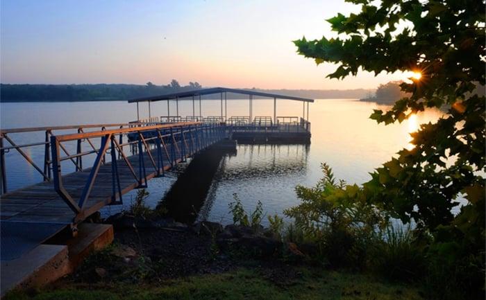Adventure Road Veterans Lake