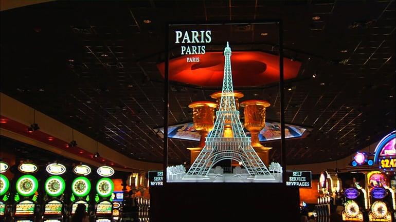 Adventure Road WinStar World Casino and Resort Paris Gaming Plaza