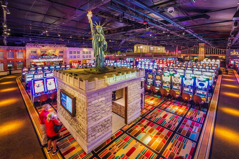 Adventure Road WinStar World Casino and Resort New York Gaming Plaza