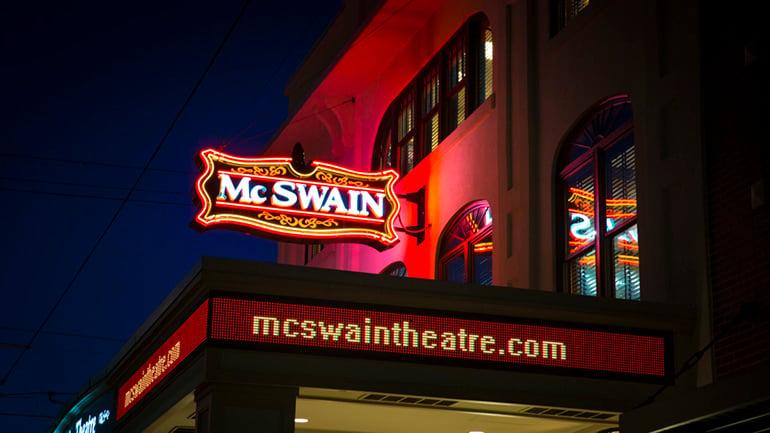 Adventure Road McSwain Theatre