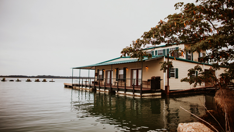 Adventure Road Lake Murray Floating Cabins