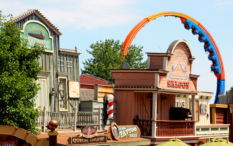 Adventure Road Frontier City Shopping in the Wild West